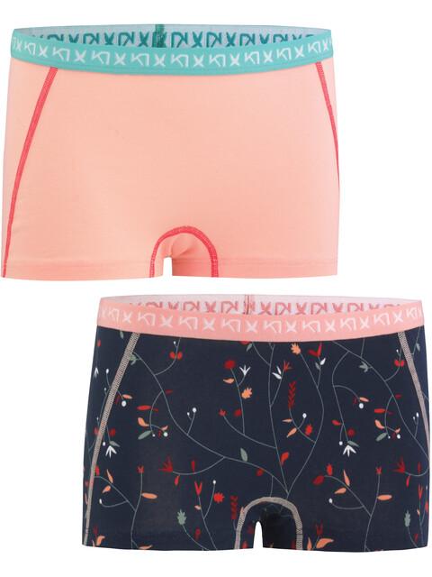 Kari Traa Attraktiv - Sous-vêtement Femme - Double Pack rose/bleu